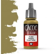 Vallejo Game Color Desert Yellow - 17ml - 72063
