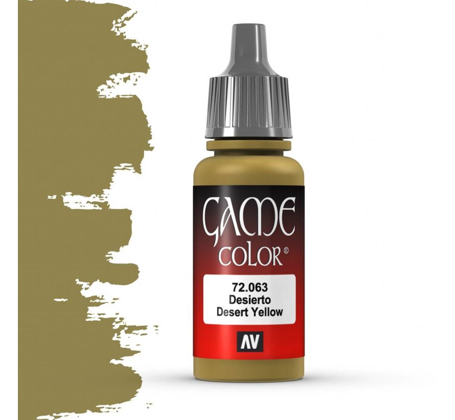 Game Color Desert Yellow - 17ml - 72063