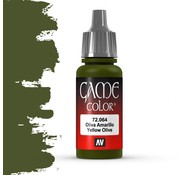 Vallejo Game Color Yellow Olive - 17ml - 72064