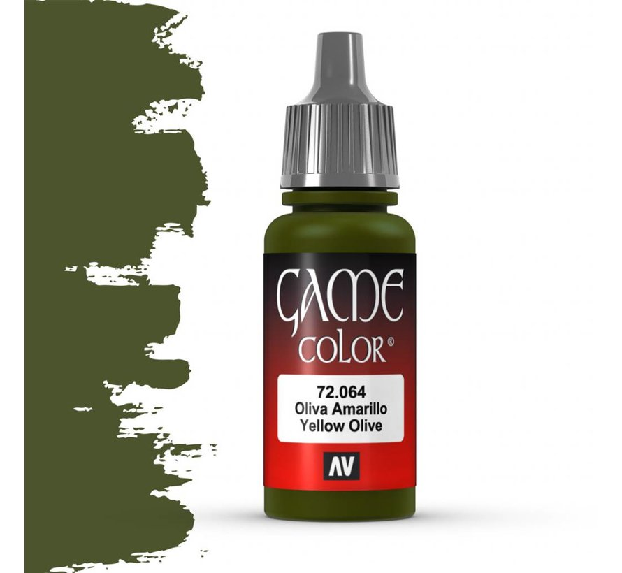 Game Color Yellow Olive - 17ml - 72064