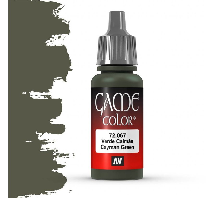 Game Color Cayman Green - 17ml - 72067