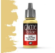 Vallejo Game Color Pale Yellow - 17ml - 72097