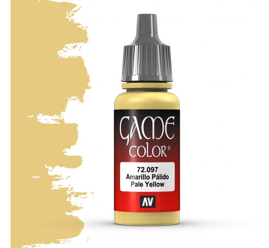 Game Color Pale Yellow - 17ml - 72097