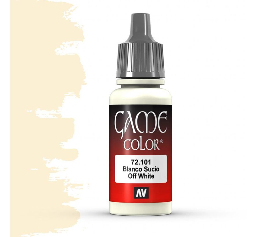 Game Color Off White - 17ml - 72101