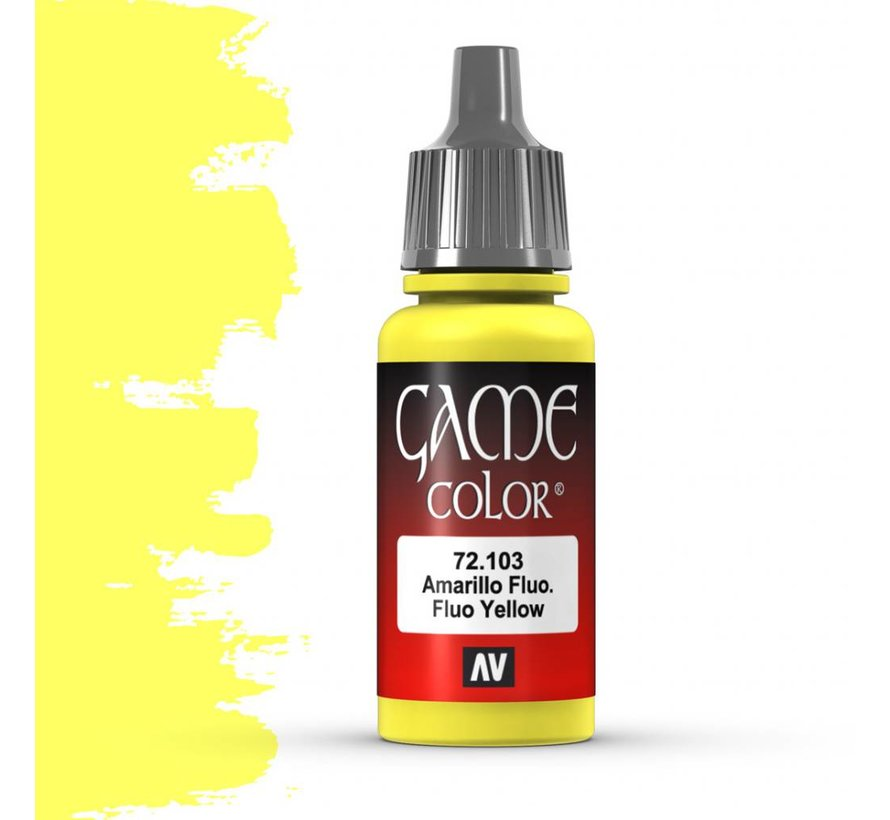 Game Color Fluo Yellow - 17ml - 72103