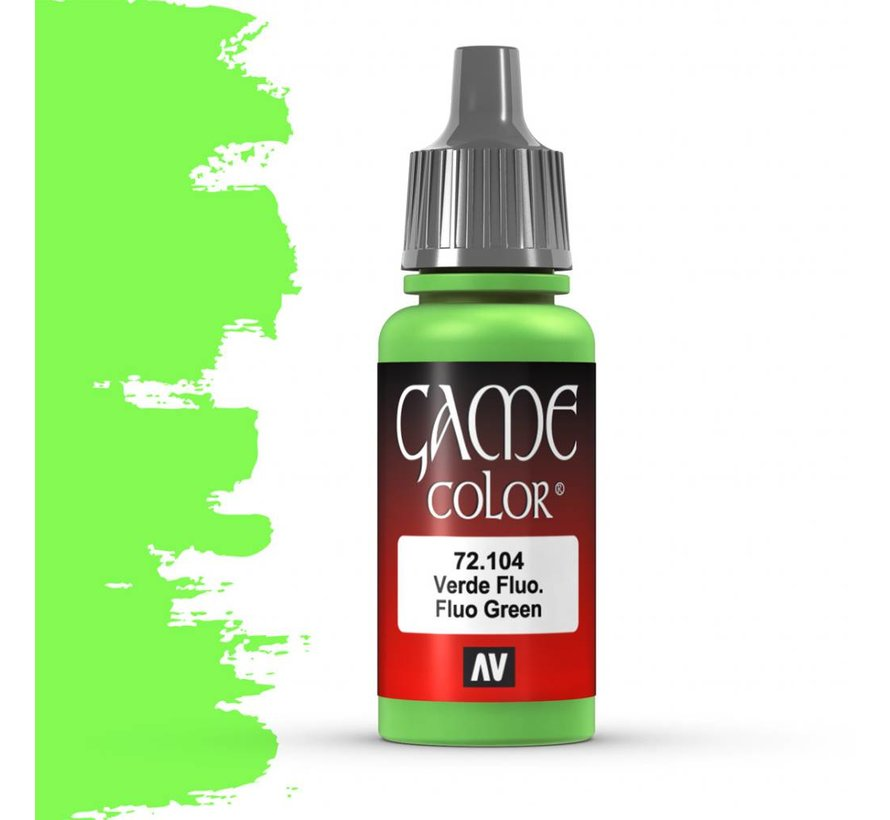 Game Color Fluo Green - 17ml - 72104