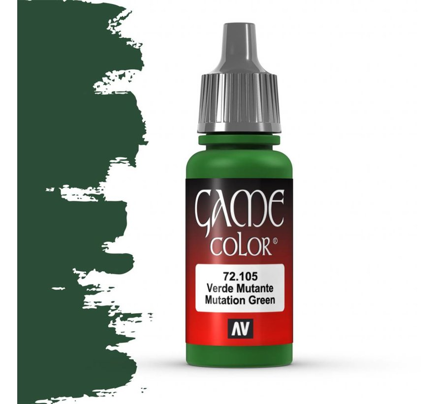 Game Color Mutation Green - 17ml - 72105
