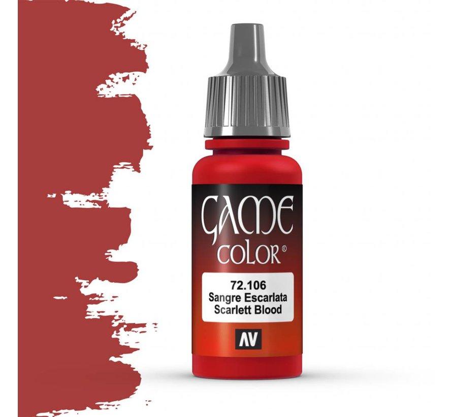 Game Color Scarlett Blood - 17ml - 72106