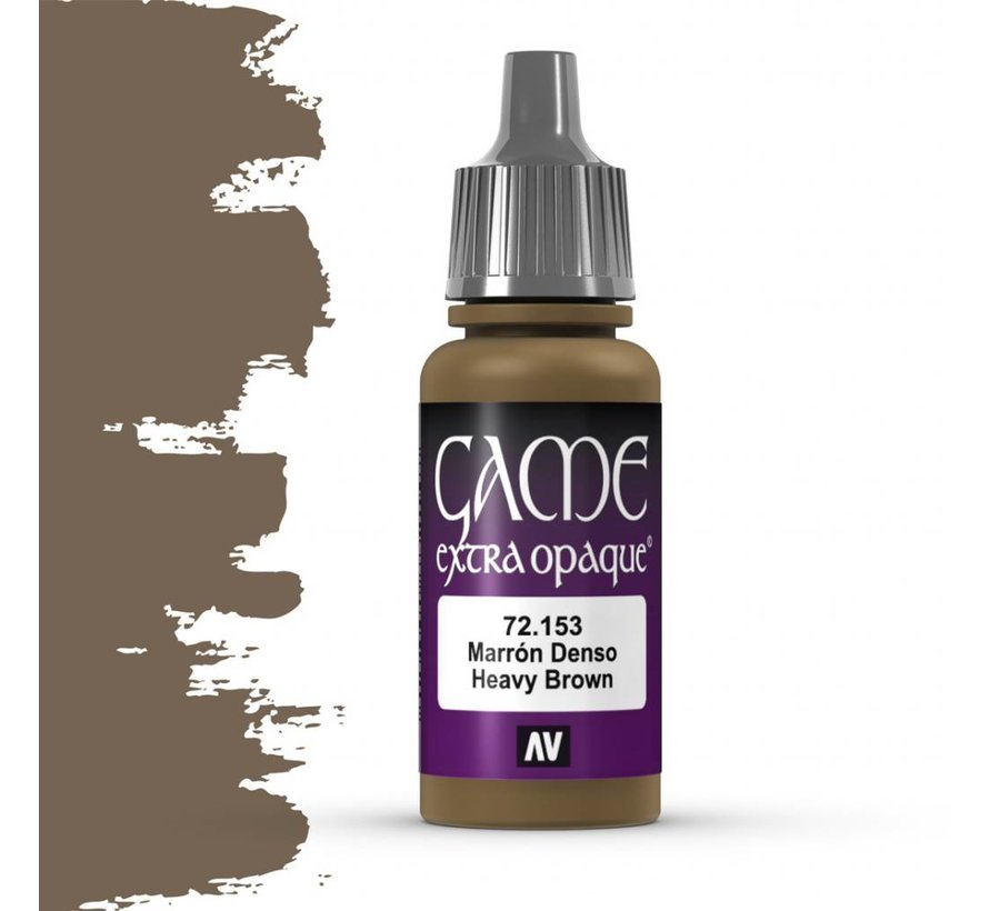 Game Extra Opaque Heavy Brown - 17ml - 72153