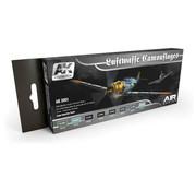 AK interactive Luftwaffe Camouflages Air Series - 8 kleuren - 17ml - AK2001