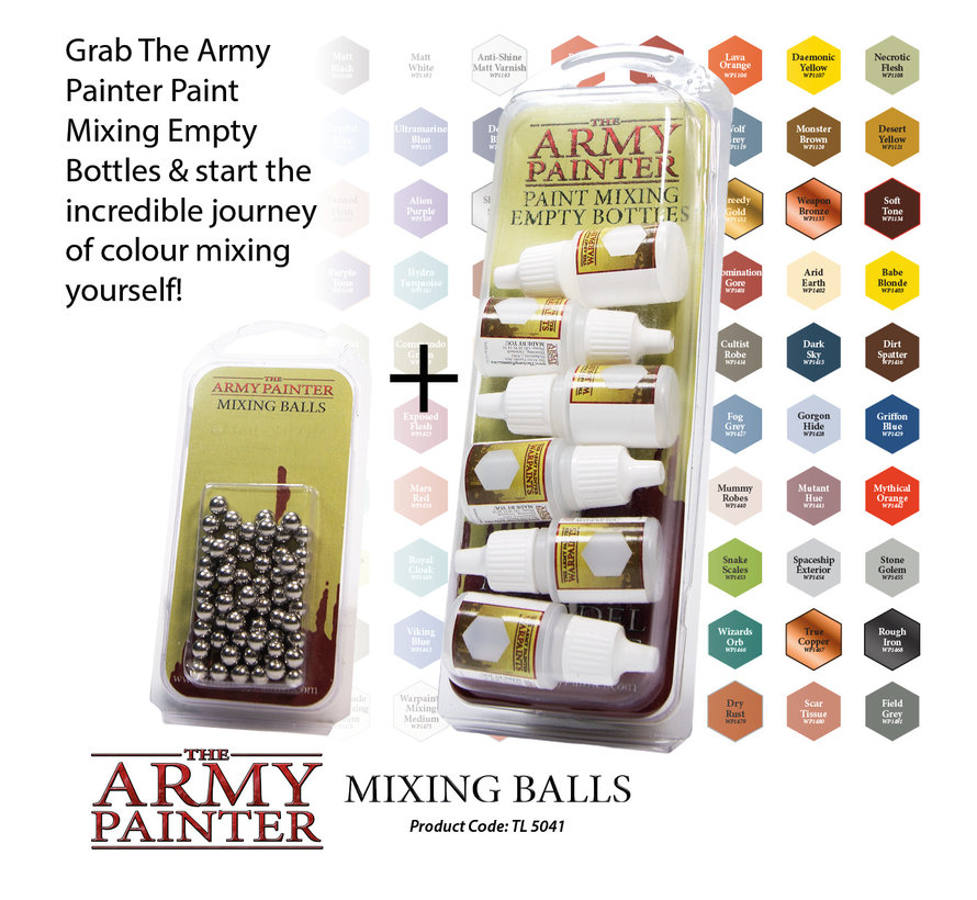 Mixing balls - 100x - TL5041