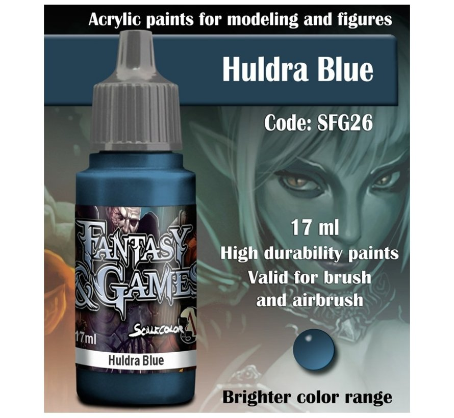Huldra Blue - Fantasy & Games  - 17ml - SFG-26