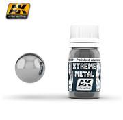 AK interactive Xtreme Metal Polished Aluminium - 30ml - AK481