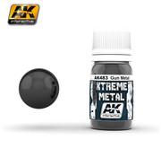 AK interactive Xtreme Metal Gun Metal - 30ml - AK483