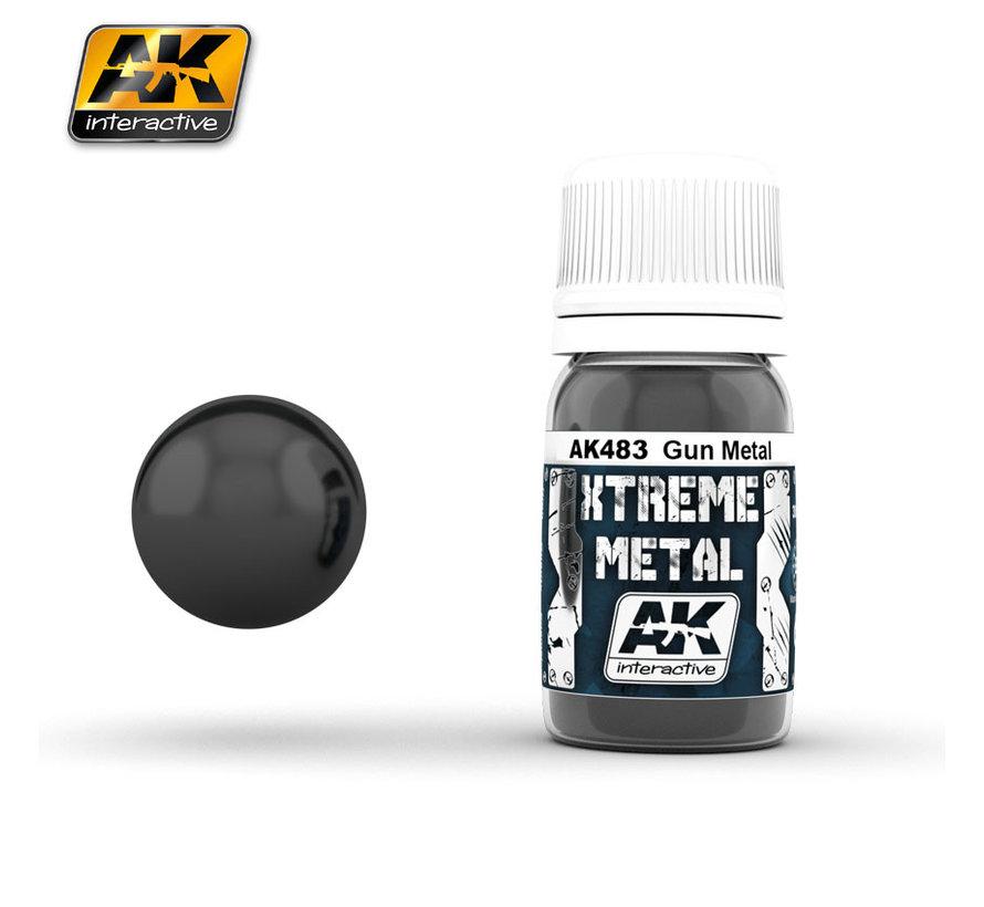Xtreme Metal Gun Metal - 30ml - AK483