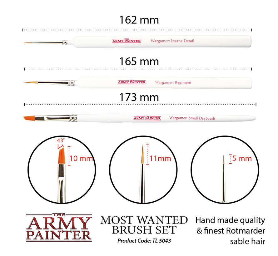 Most Wanted Brush Set - TL5043