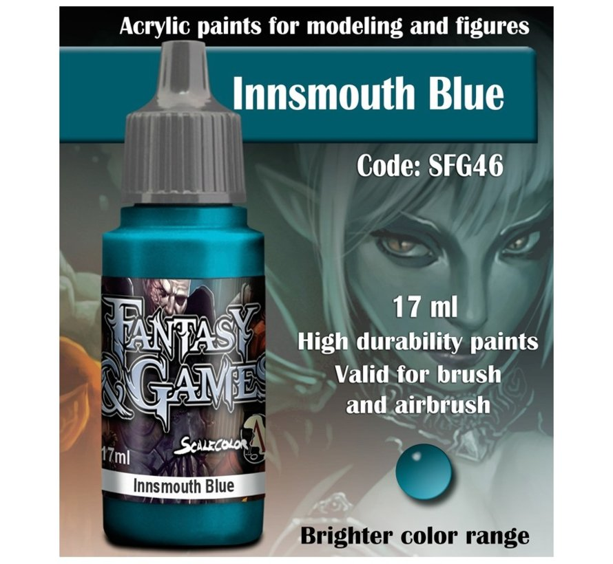 Innsmouth Blue - Fantasy & Games - 17ml - SFG-46