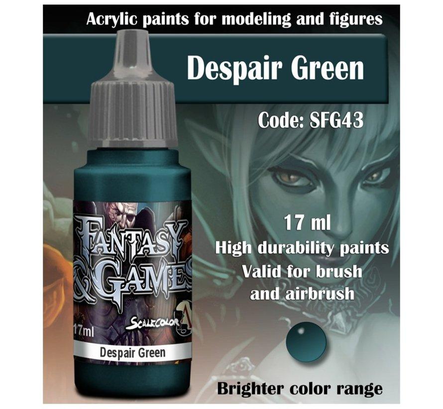 Despair Green - Fantasy & Games - 17ml - SFG-43