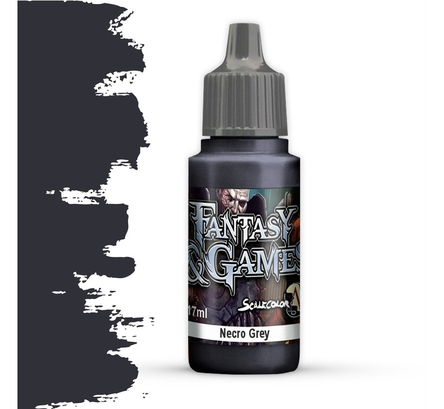 Necro Grey - Fantasy & Games - 17ml - SFG-42