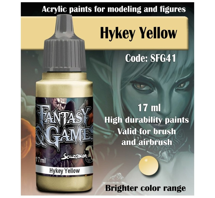 Hykey Yellow - Fantasy & Games - 17ml - SFG-41