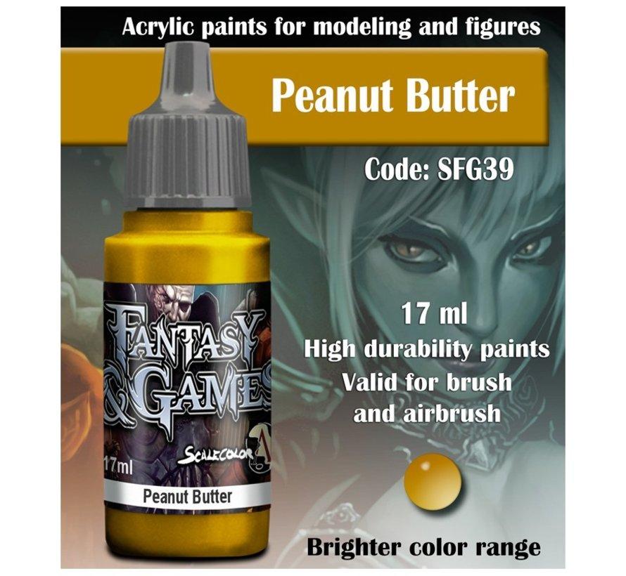 Peanut Butter - Fantasy & Games - 17ml - SFG-39