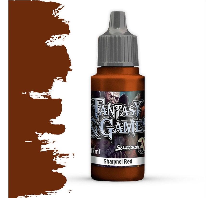 Sharpnel Red - Fantasy & Games - 17ml - SFG-36