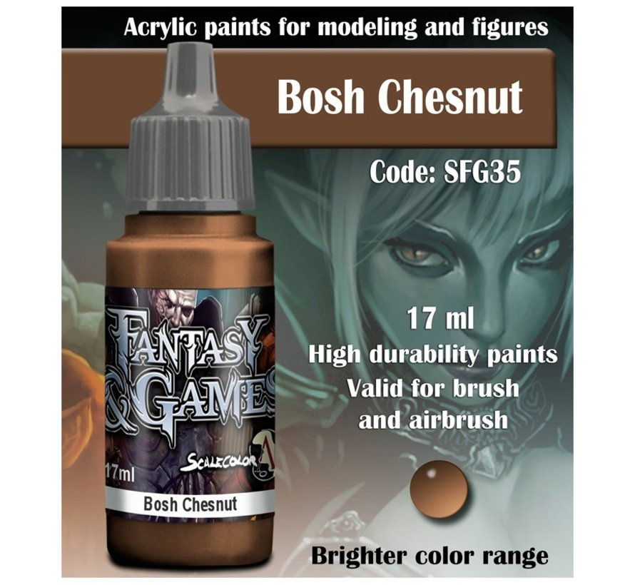 Bosh Chestnut - Fantasy & Games - 17ml - SFG-35