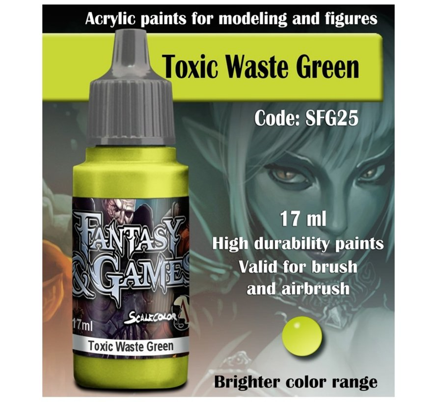 Toxic Waste Green - Fantasy & Games - 17ml - SFG-25