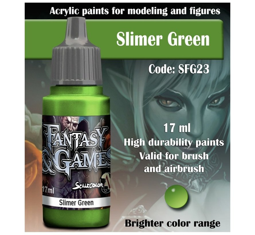 Slimer Green - Fantasy & Games - 17ml - SFG-23
