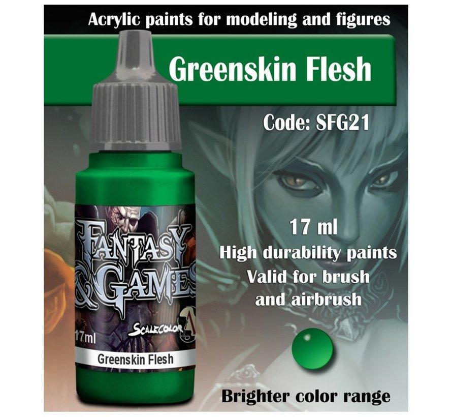 Greenskin Flesh - Fantasy & Games - 17ml - SFG-21