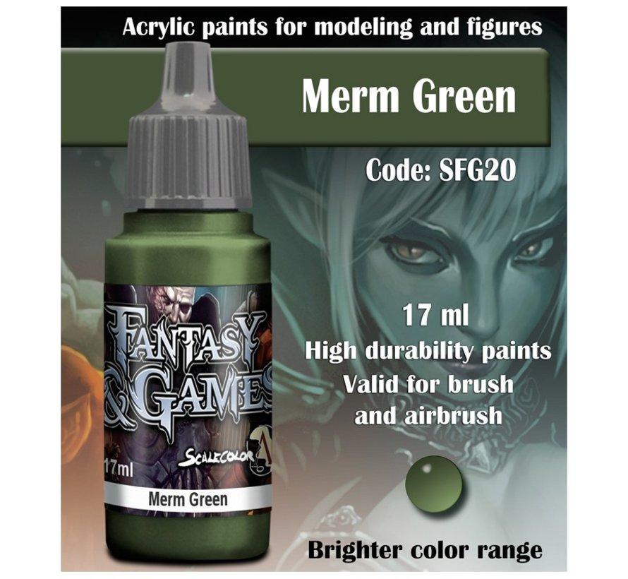 Merm Green - Fantasy & Games - 17ml - SFG-20