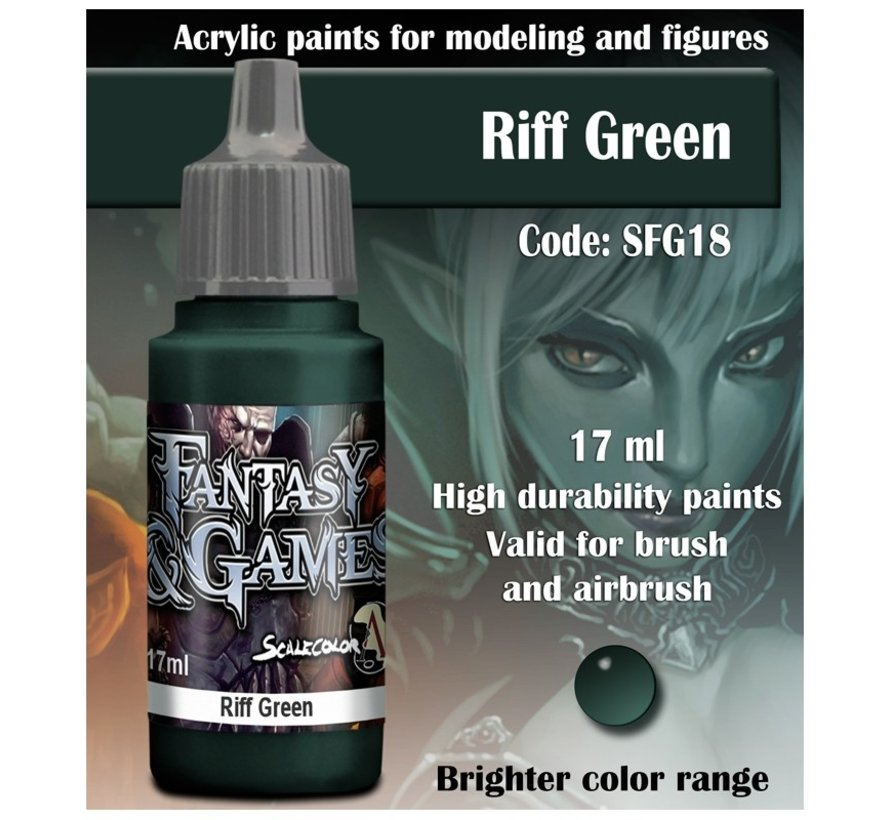 Riff Green - Fantasy & Games - 17ml - SFG-18