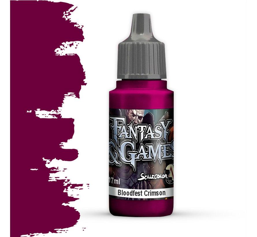 Bloodfest Crimson - Fantasy & Games - 17ml - SFG-11