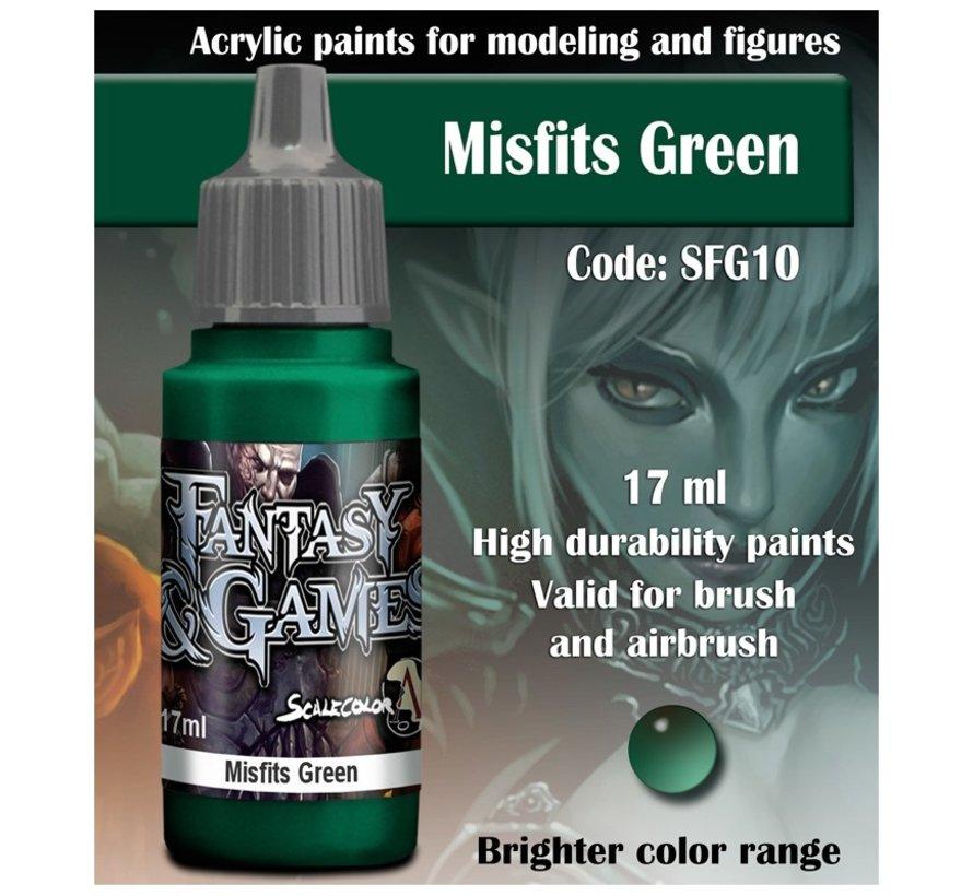 Misfits Green - Fantasy & Games - 17ml - SFG-10