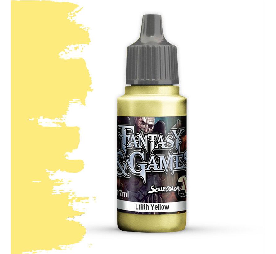 Lilith Yellow - Fantasy & Games - 17ml - SFG-09