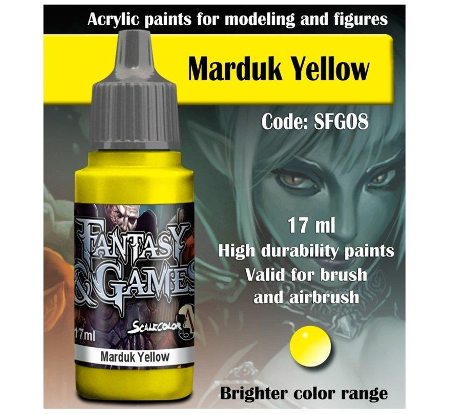Marduk Yellow - Fantasy & Games - 17ml - SFG-08