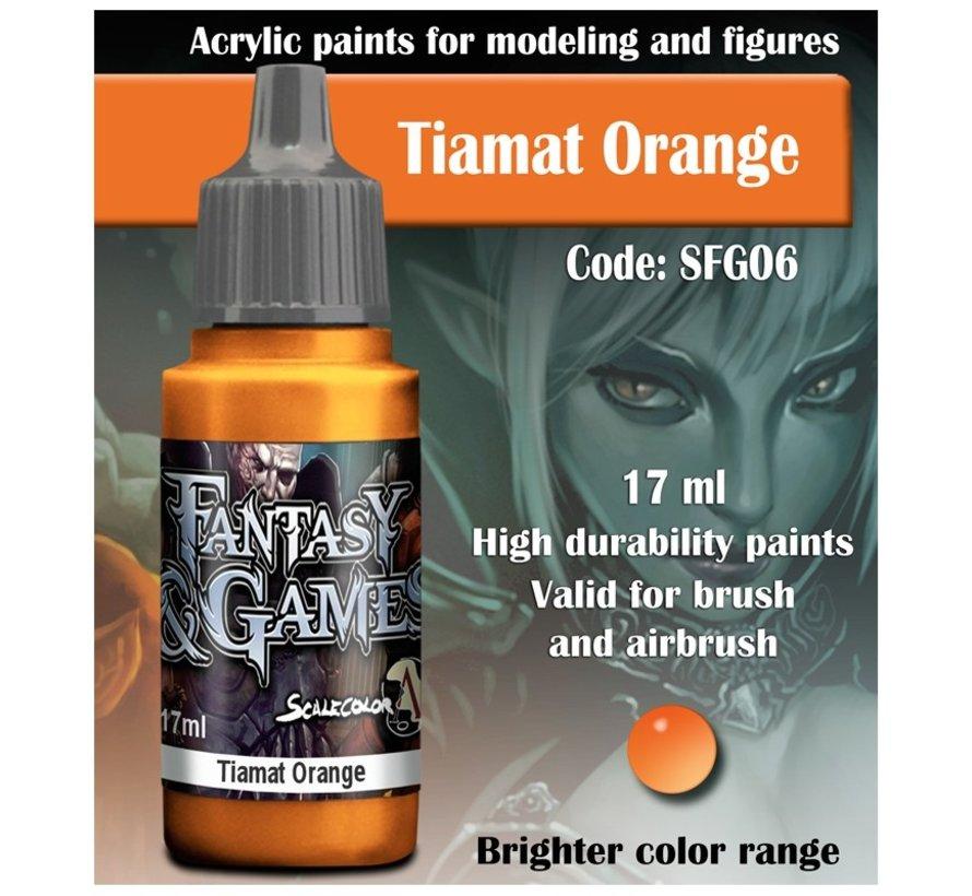 Tiamat Orange - Fantasy & Games - 17ml - SFG-06