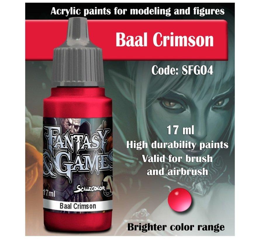 Baal Crimson - Fantasy & Games - 17ml - SFG-04