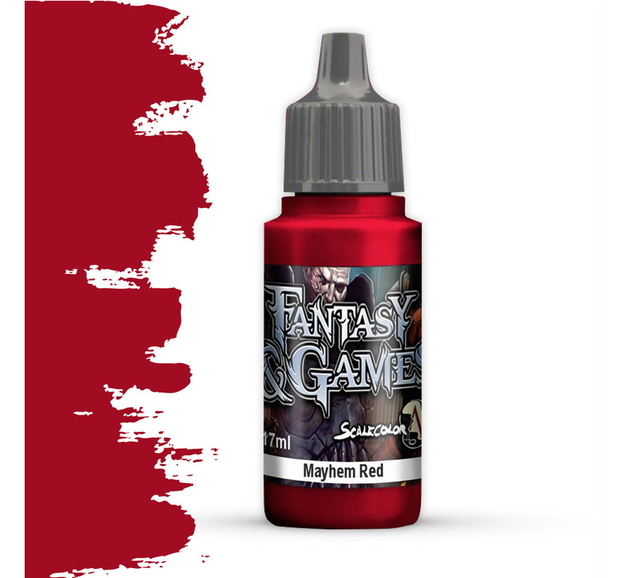 Mayhem Red - Fantasy & Games - 17ml - SFG-03