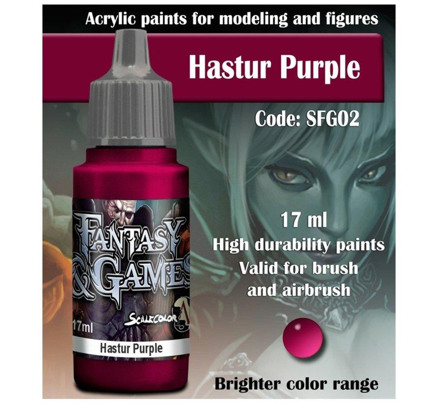 Hastur Purple - Fantasy & Games - 17ml - SFG-02