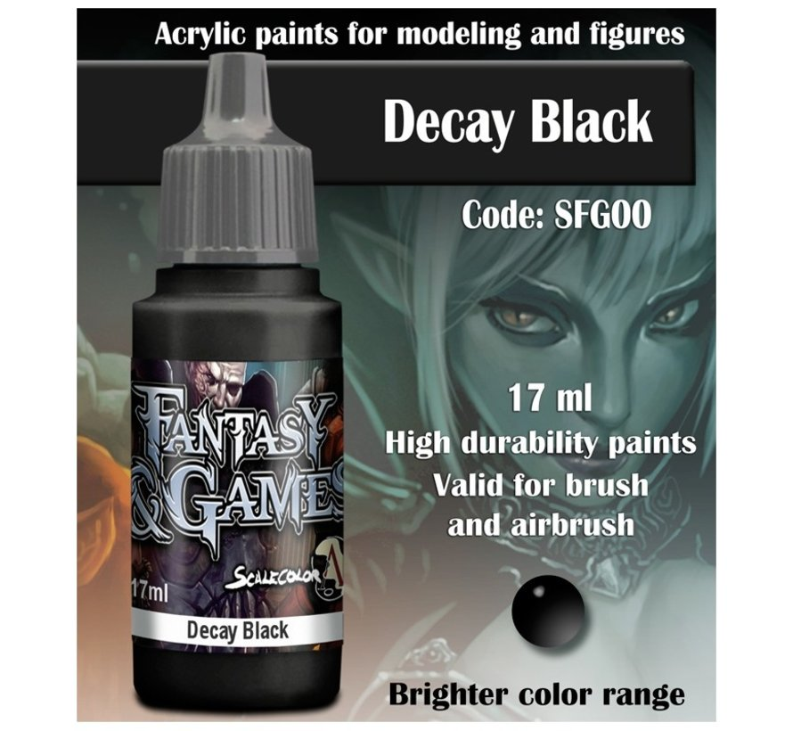 Decay Black - Fantasy & Games - 17ml - SFG-00