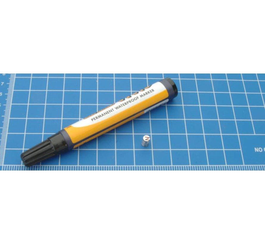 5mm x 2mm Rare Earth Magneten voor miniaturen - 50x - S-05-02-N-50