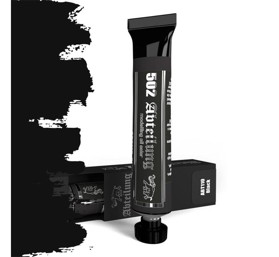 Black Modeling Oil Color - 20ml - ABT110