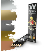 AK interactive Weathering Pencil Metallic Effects Set - 5 kleuren - AK10046