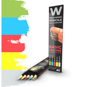 AK interactive Weathering Pencil Set Basics - 5 kleuren - AK10045