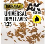 AK interactive Lasercut Leaves Universal Dry Leaves 1:35 - AK8109