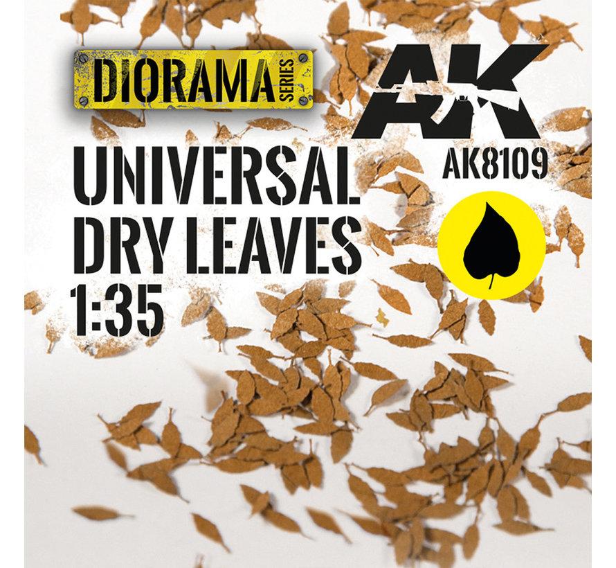 Lasercut Leaves Universal Dry Leaves 1:35 - AK8109