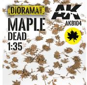 AK interactive Lasercut Leaves Maple Dead Leaves 1:35 - AK8104
