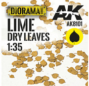 AK interactive Lasercut Leaves Lime 1:35 - AK8101