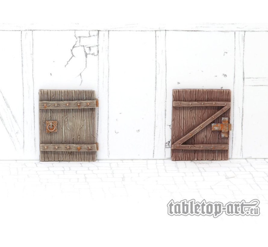 Terrain components - Doors set 3 - 4x - TTA800024